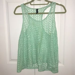 Turquoise Nollie top